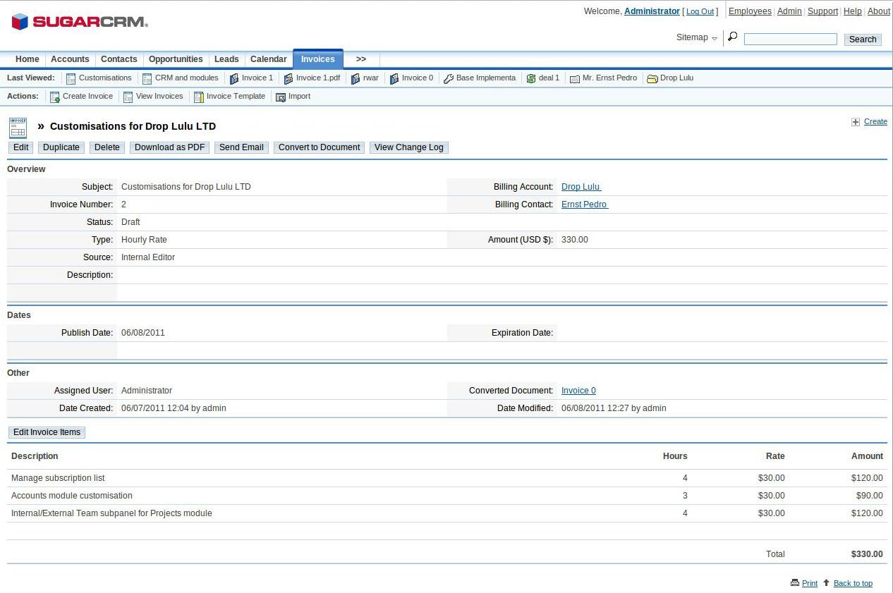Letrium Ltd    CRM development and customization, EspoCRM, SugarCRM